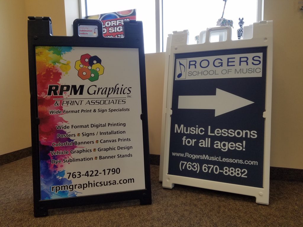 Small Display Signs / Real Estate Signs - RPM Graphics