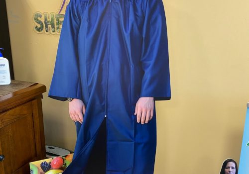 Graduation full size cut outs with easels