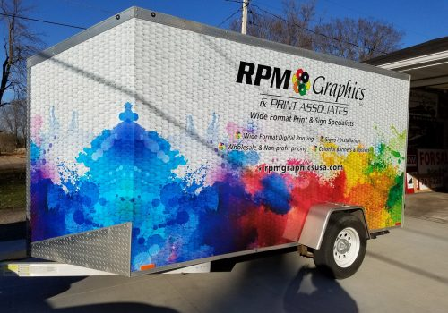 Colorful Trailer Wraps